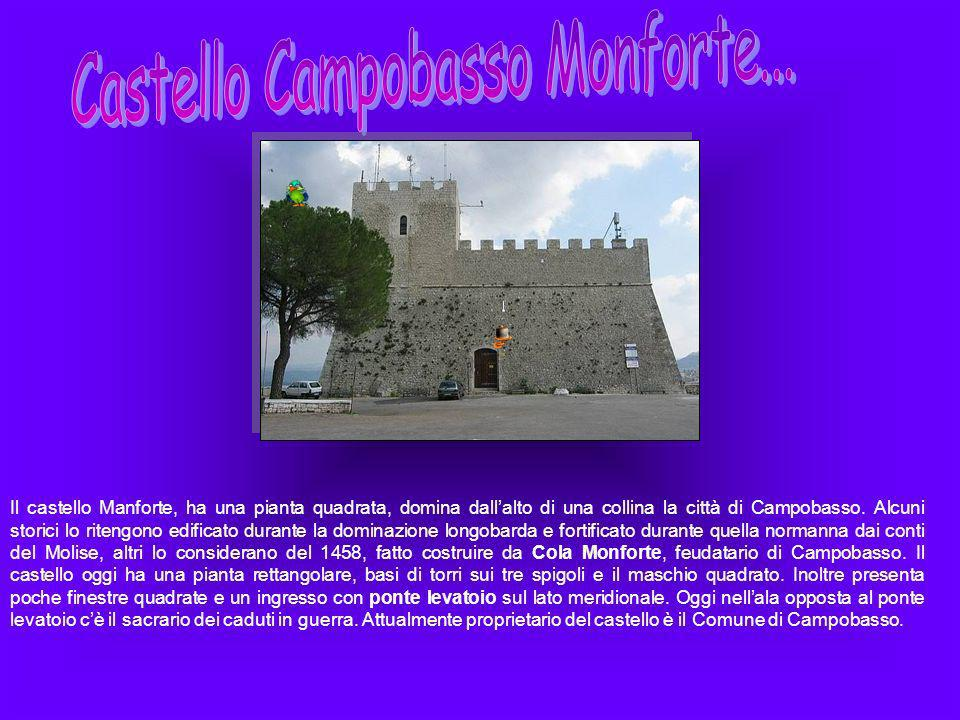 Castello Campobasso Monforte...