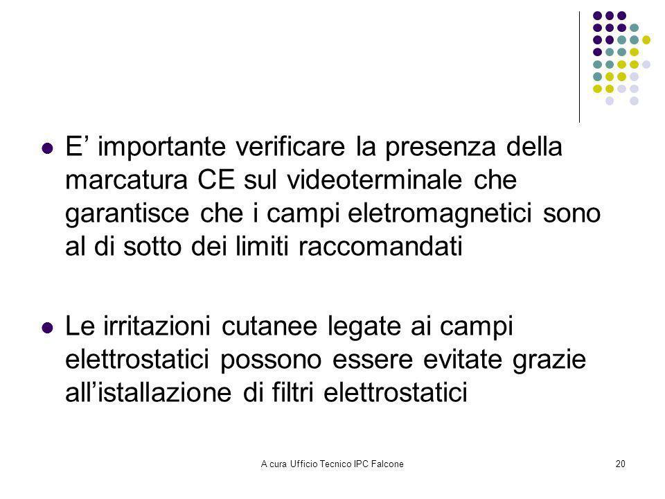 A cura Ufficio Tecnico IPC Falcone