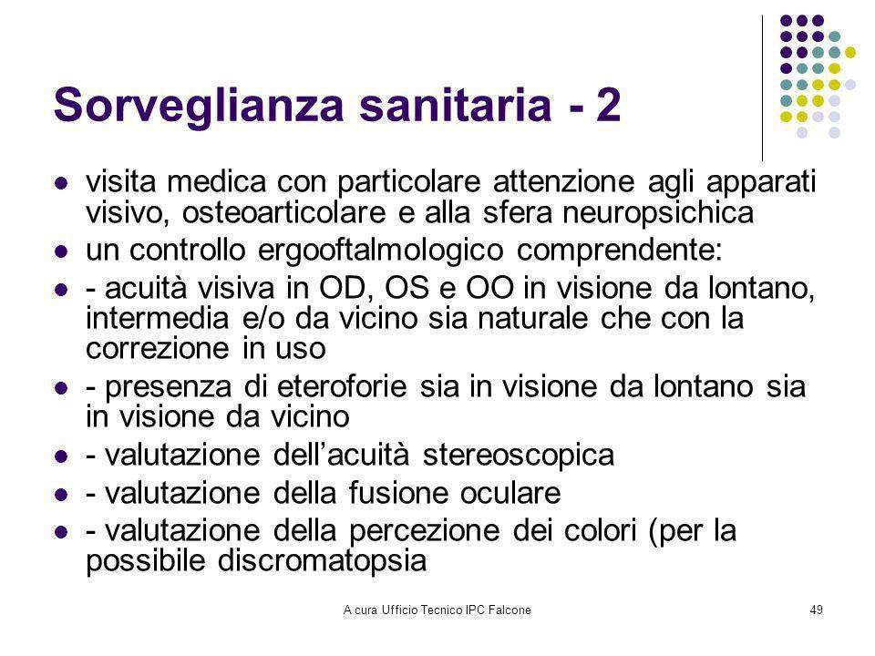 Sorveglianza sanitaria - 2