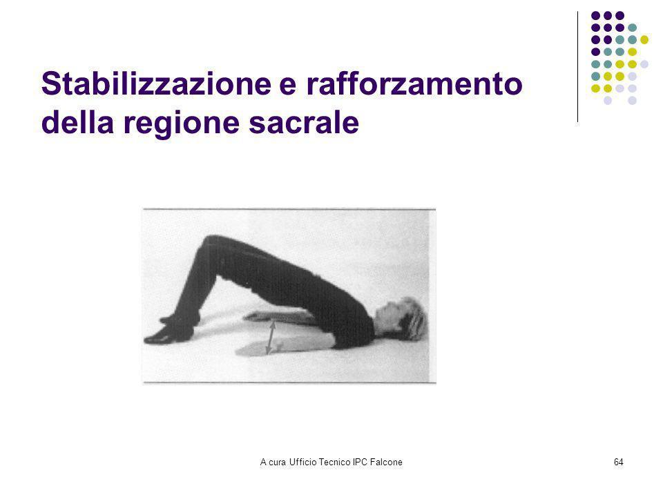 Stabilizzazione e rafforzamento della regione sacrale