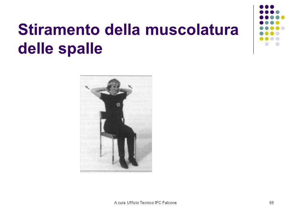 Stiramento della muscolatura delle spalle