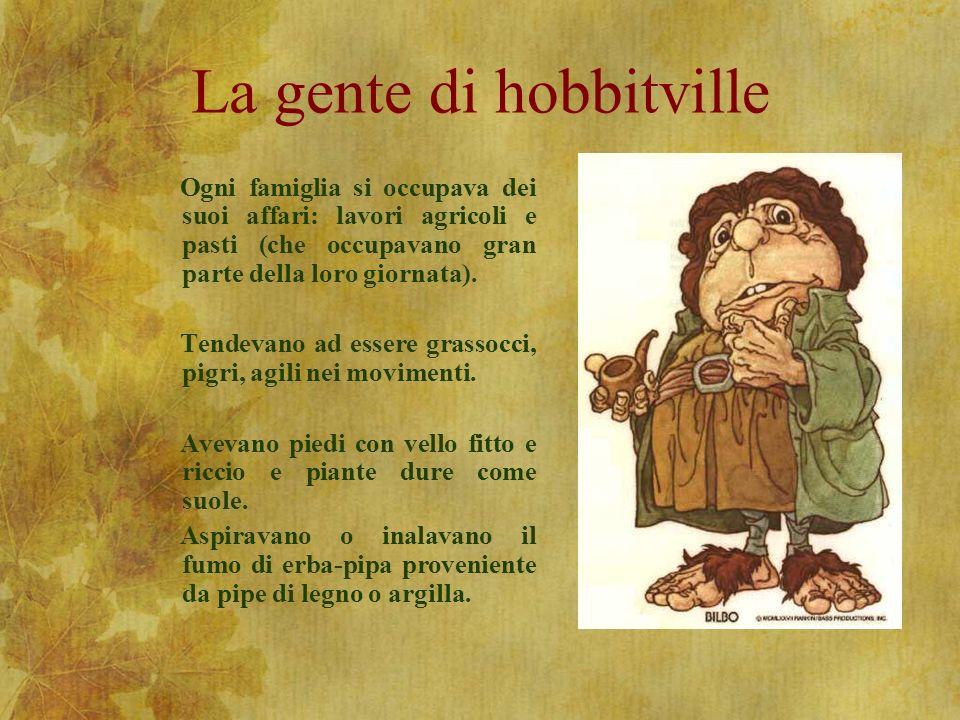 La gente di hobbitville