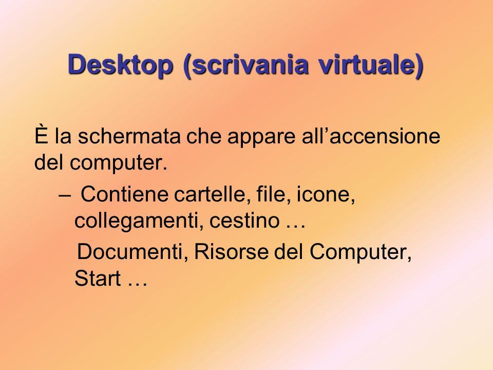 Desktop (scrivania virtuale)