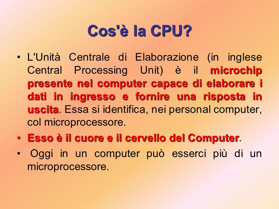 Cos è la CPU