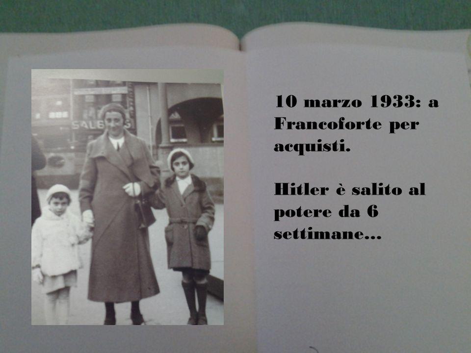 10 marzo 1933: a Francoforte per acquisti.