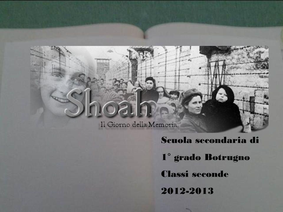 Scuola secondaria di 1° grado Botrugno Classi seconde 2012-2013