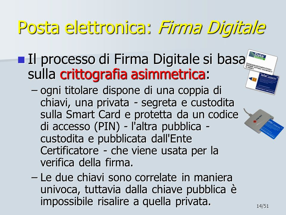 Posta elettronica: Firma Digitale