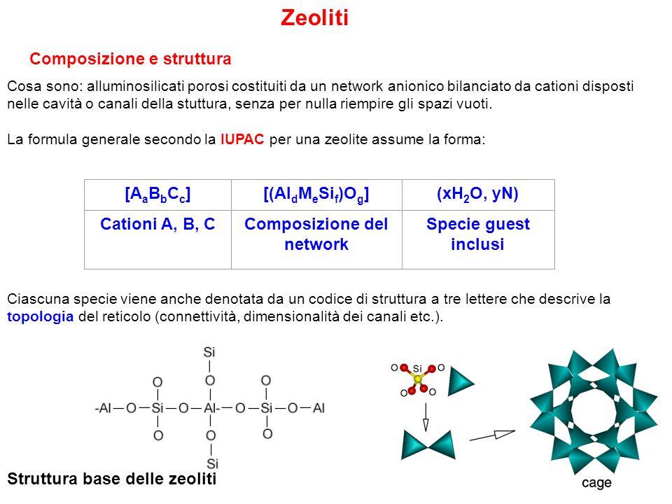 Composizione del network