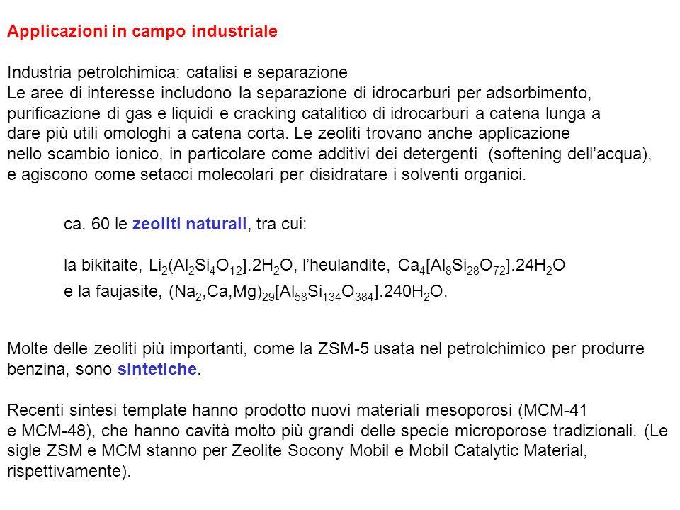 Applicazioni in campo industriale