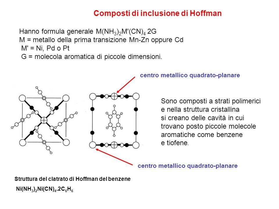 Composti di inclusione di Hoffman