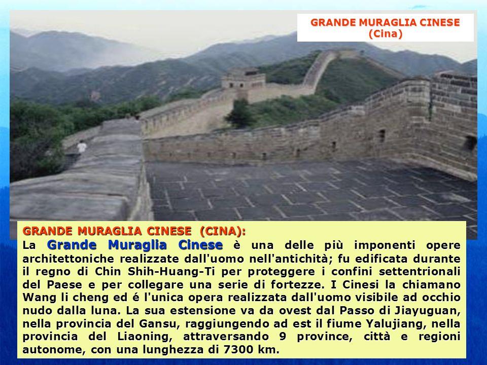 GRANDE MURAGLIA CINESE (Cina)