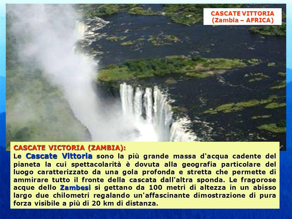 CASCATE VITTORIA (Zambia – AFRICA)