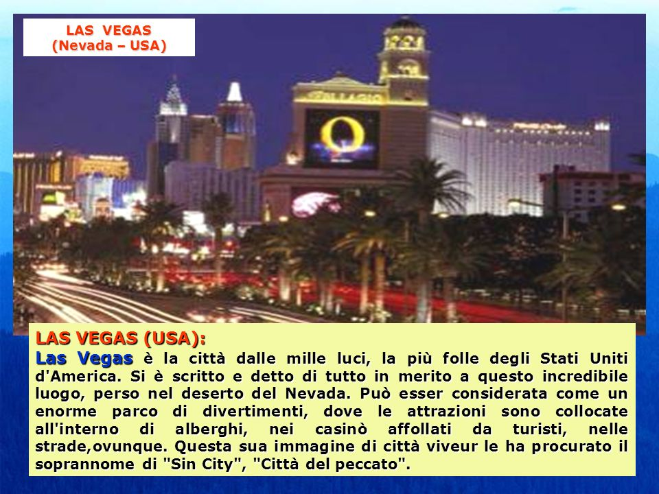 LAS VEGAS (Nevada – USA)