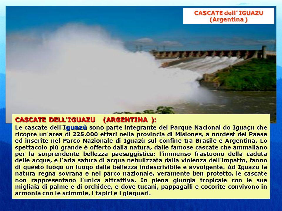 CASCATE dell' IGUAZU (Argentina )