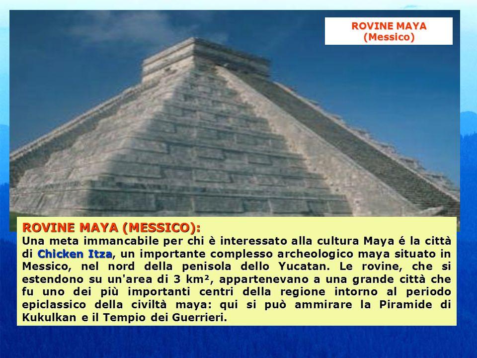 ROVINE MAYA (MESSICO):