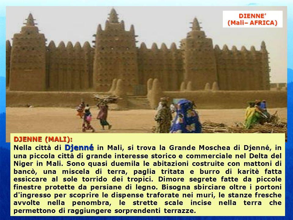 DIENNE' (Mali– AFRICA)