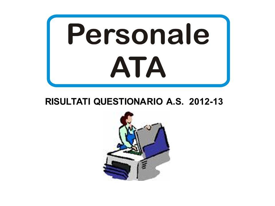 RISULTATI QUESTIONARIO A.S. 2012-13