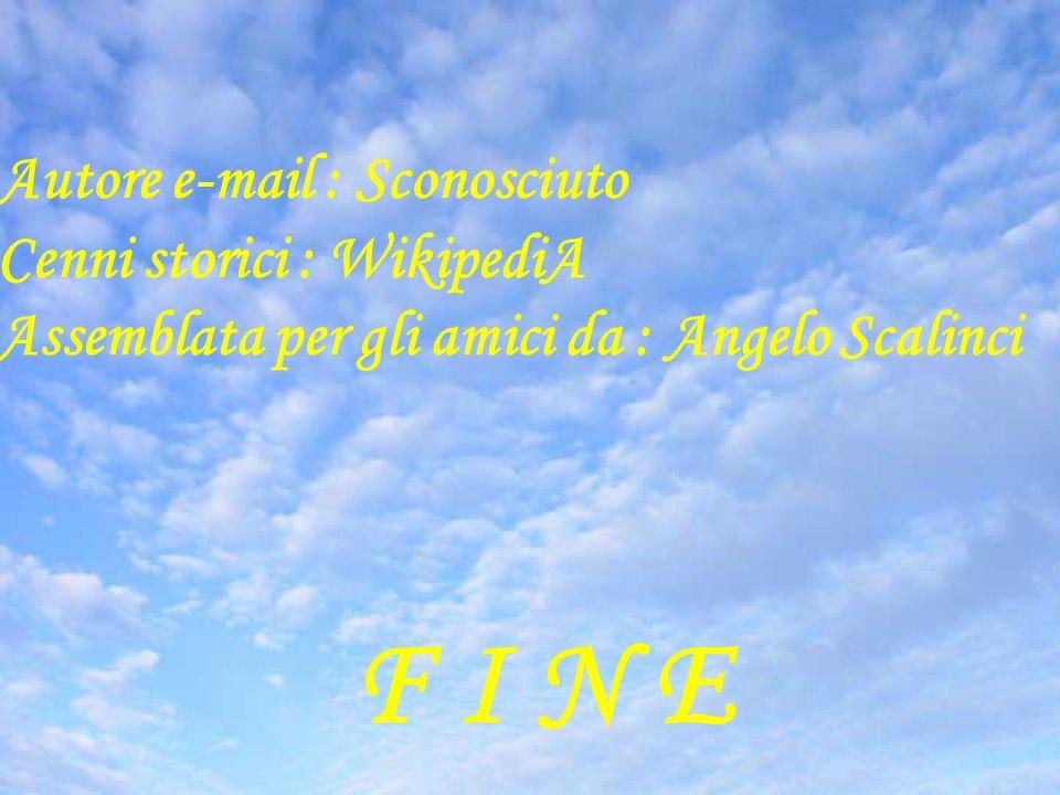 F I N E Suite Reale Autore e-mail : Sconosciuto