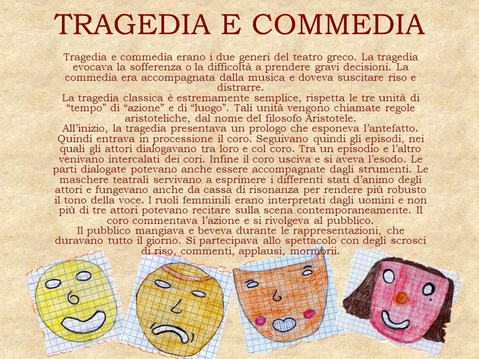 TRAGEDIA E COMMEDIA