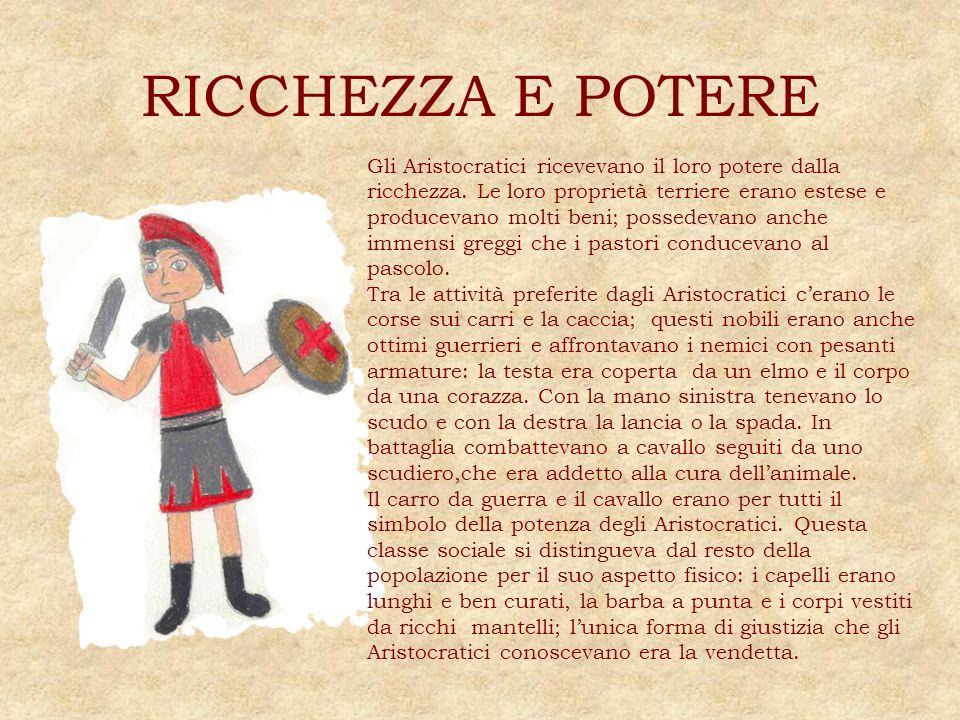 RICCHEZZA E POTERE