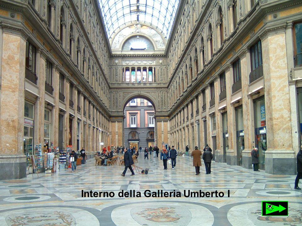 Interno della Galleria Umberto I