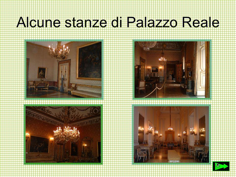 Alcune stanze di Palazzo Reale