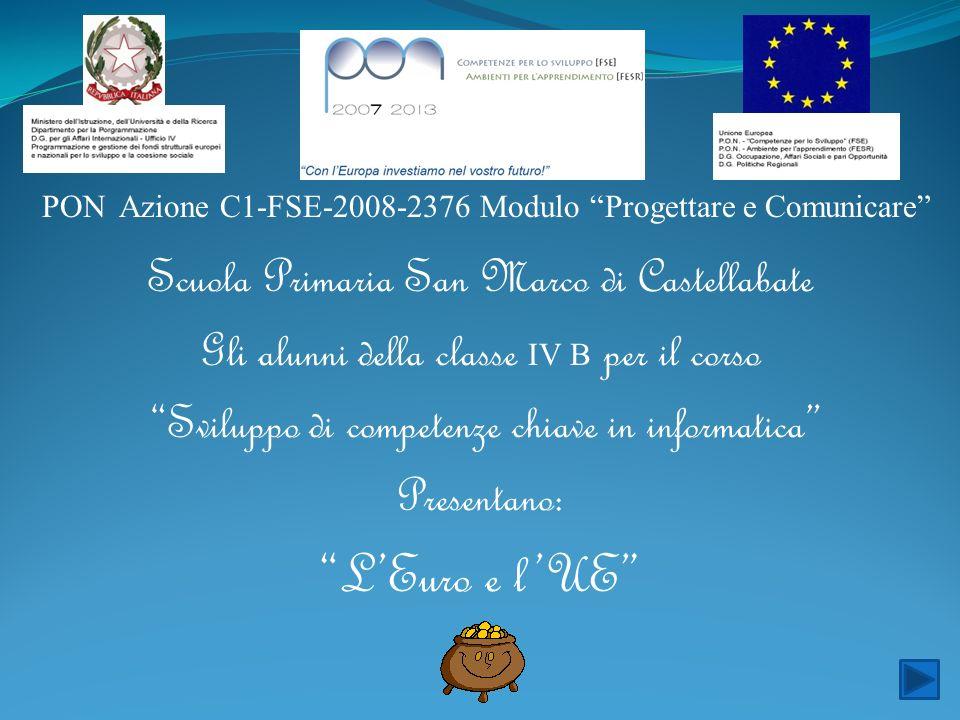 L'Euro e l'UE Scuola Primaria San Marco di Castellabate