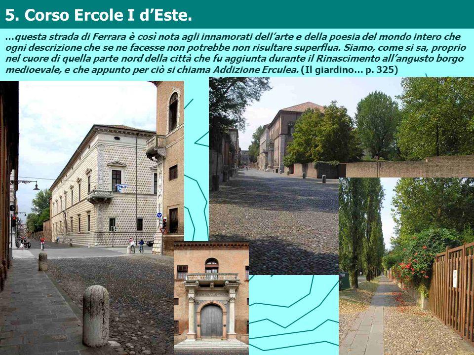 5. Corso Ercole I d'Este.