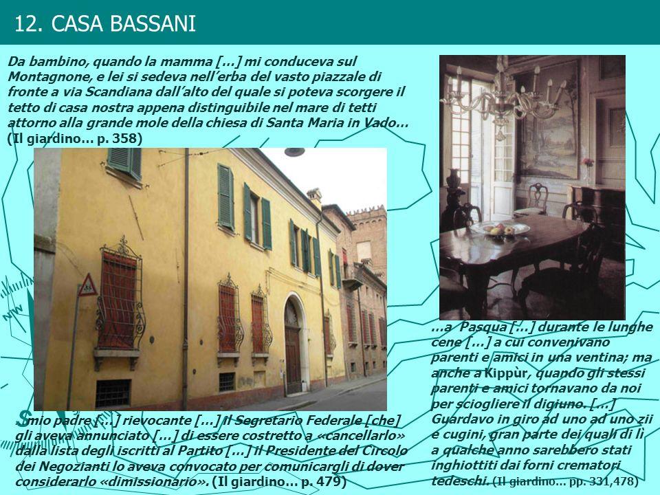 12. CASA BASSANI