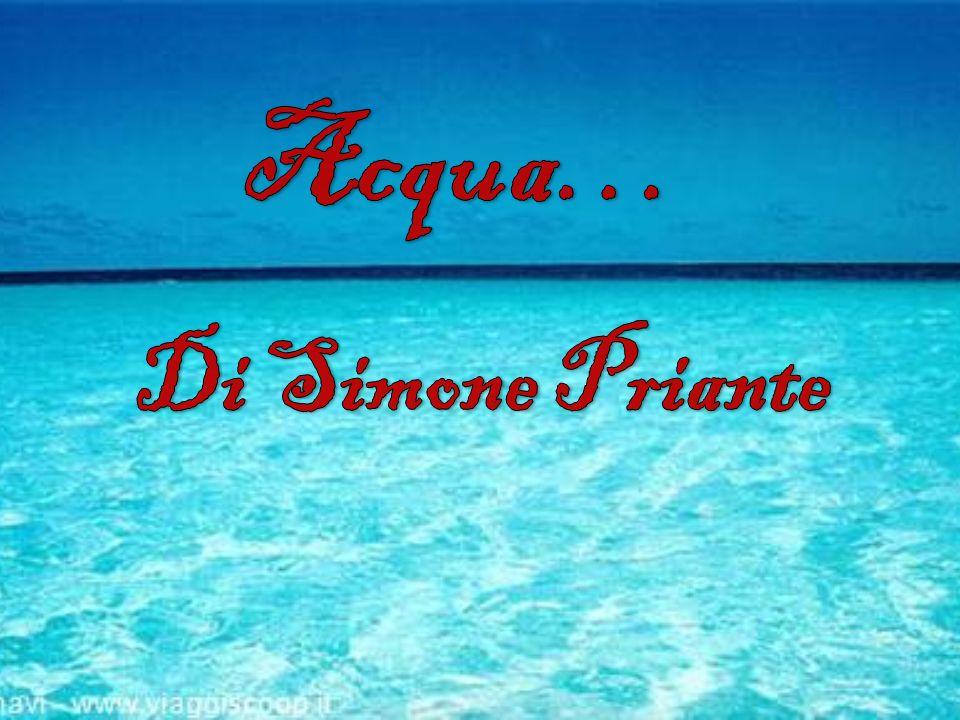 Acqua… Di Simone Priante
