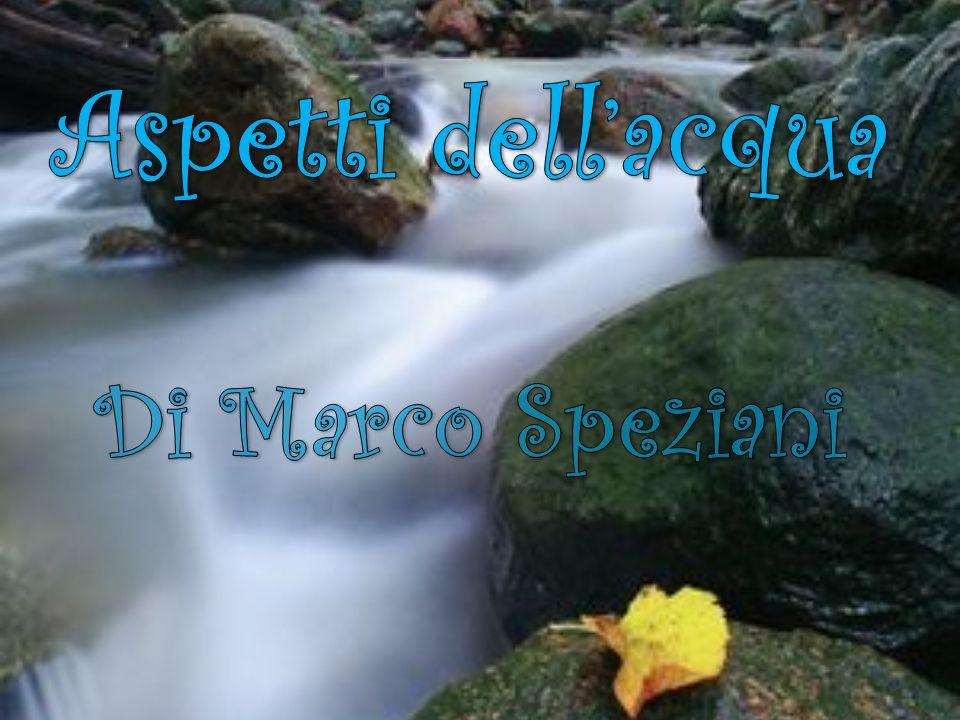 Aspetti dell'acqua Di Marco Speziani