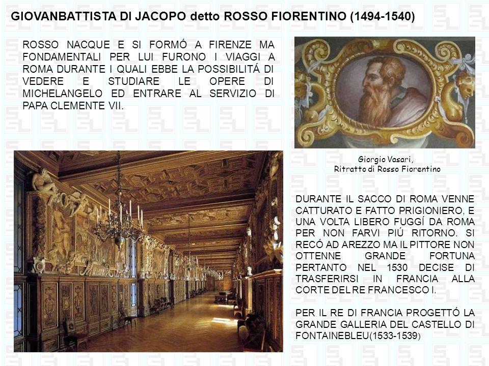 Ritratto di Rosso Fiorentino