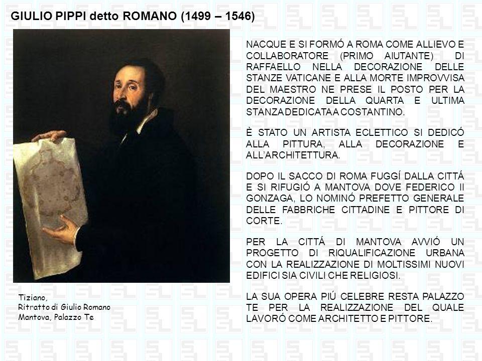 GIULIO PIPPI detto ROMANO (1499 – 1546)