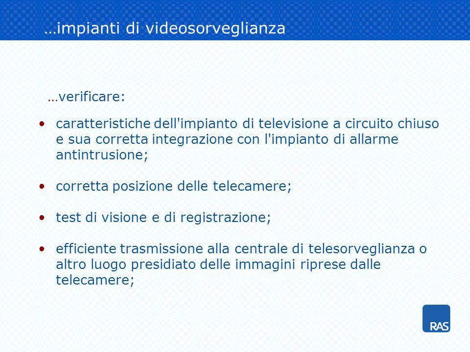 …impianti di videosorveglianza