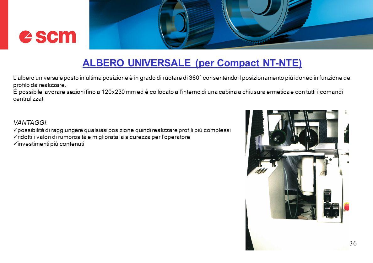 ALBERO UNIVERSALE (per Compact NT-NTE)