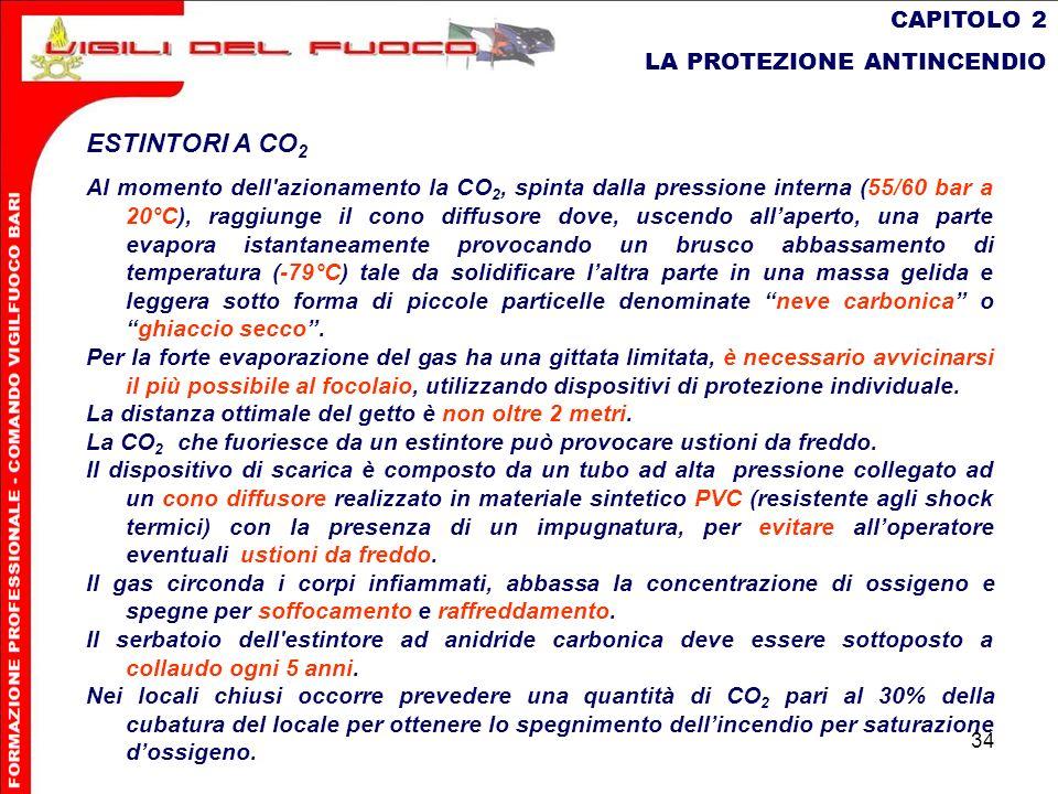 ESTINTORI A CO2 CAPITOLO 2 LA PROTEZIONE ANTINCENDIO