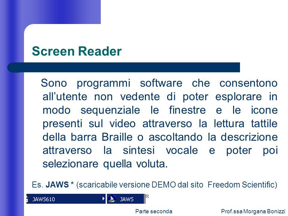 Screen Reader