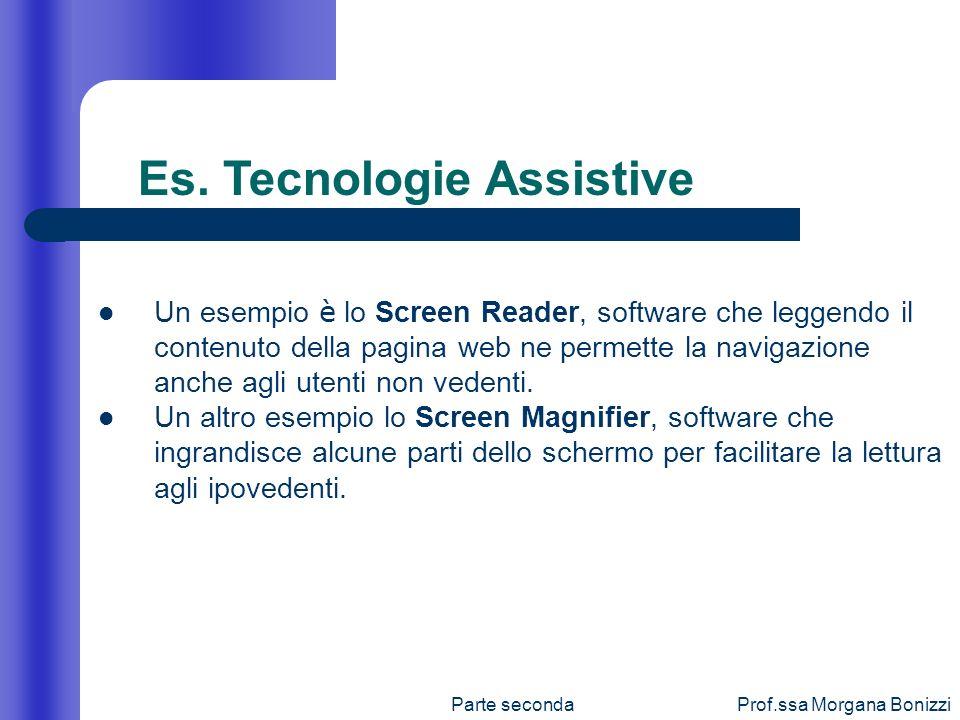 Es. Tecnologie Assistive