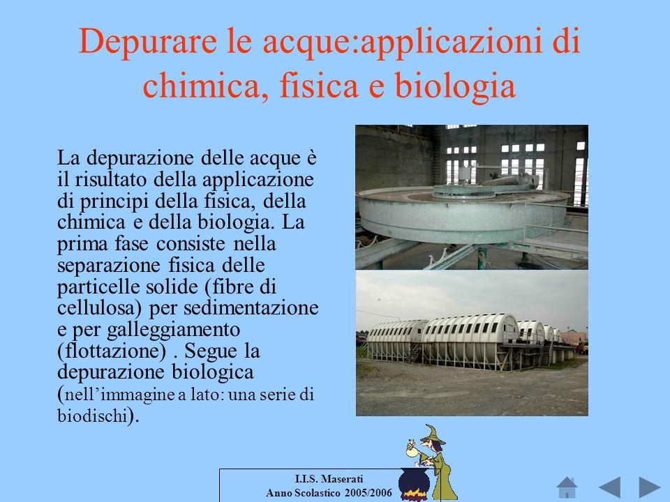 Depurare le acque:applicazioni di chimica, fisica e biologia