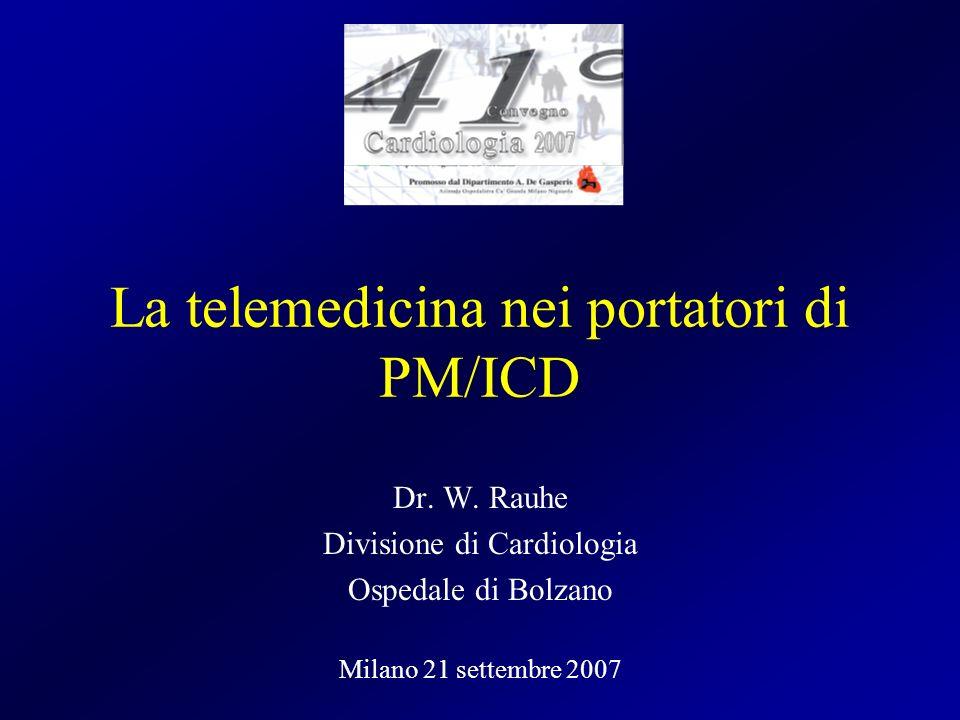 La telemedicina nei portatori di PM/ICD