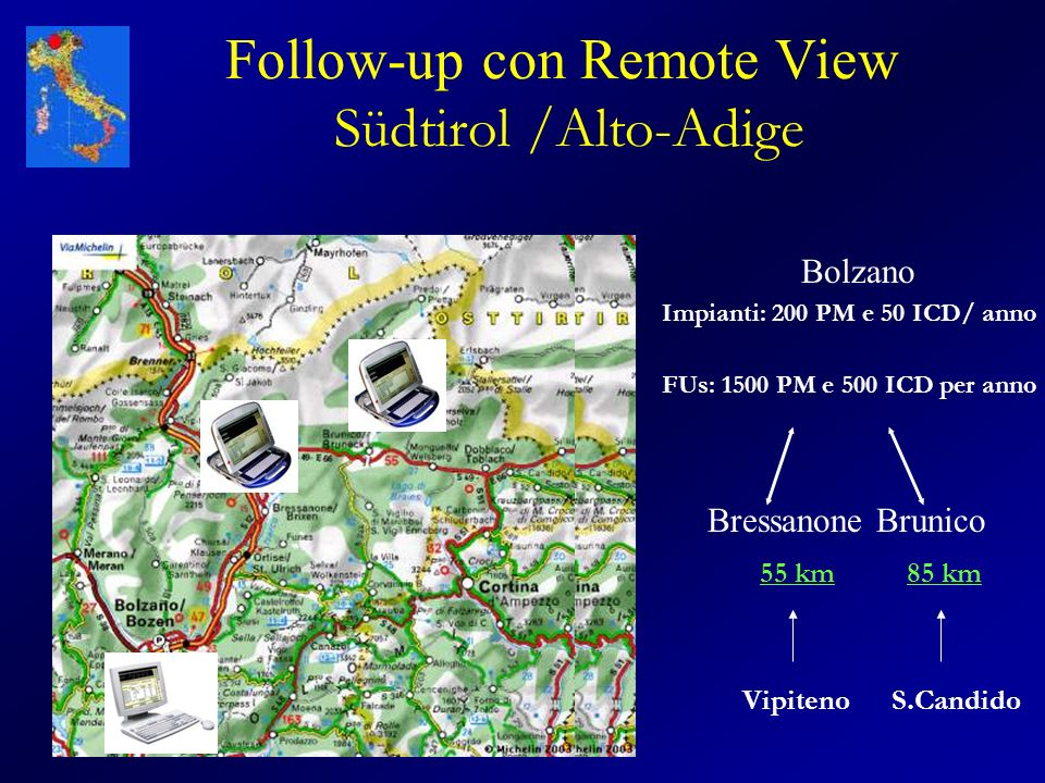 Follow-up con Remote View Südtirol /Alto-Adige