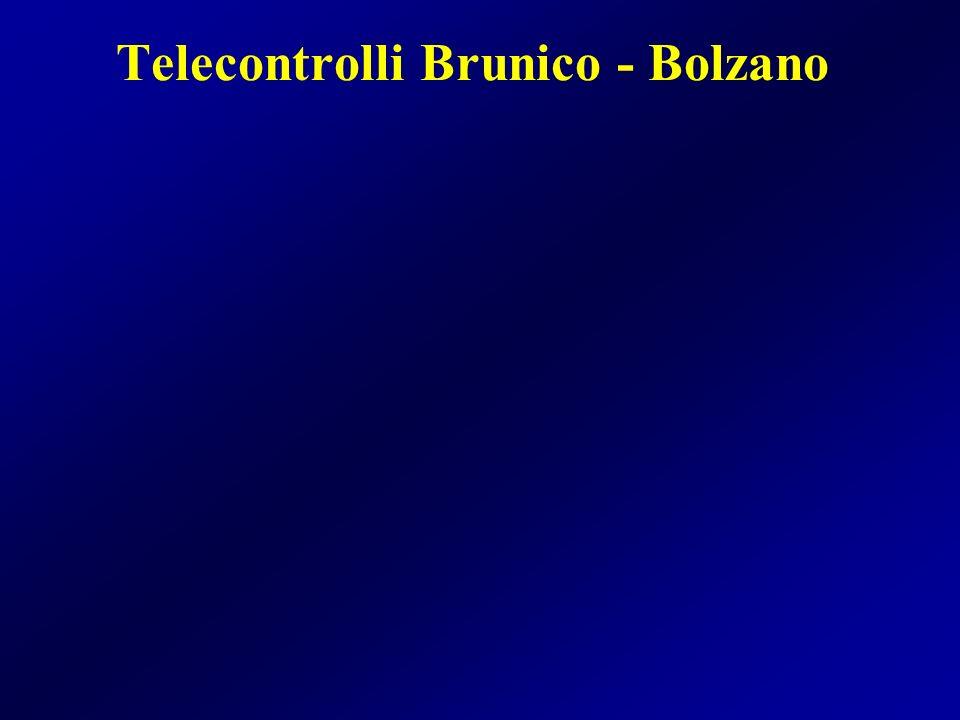 Telecontrolli Brunico - Bolzano