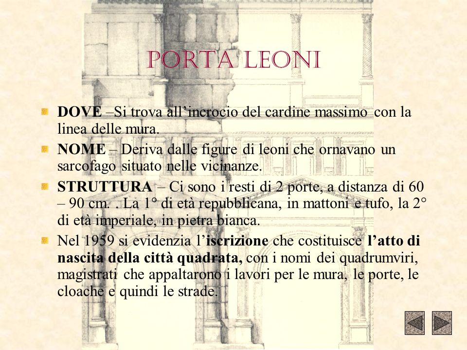 Visita guidata teatro romano e museo classi i at e i di for Dove si trova la camera dei deputati