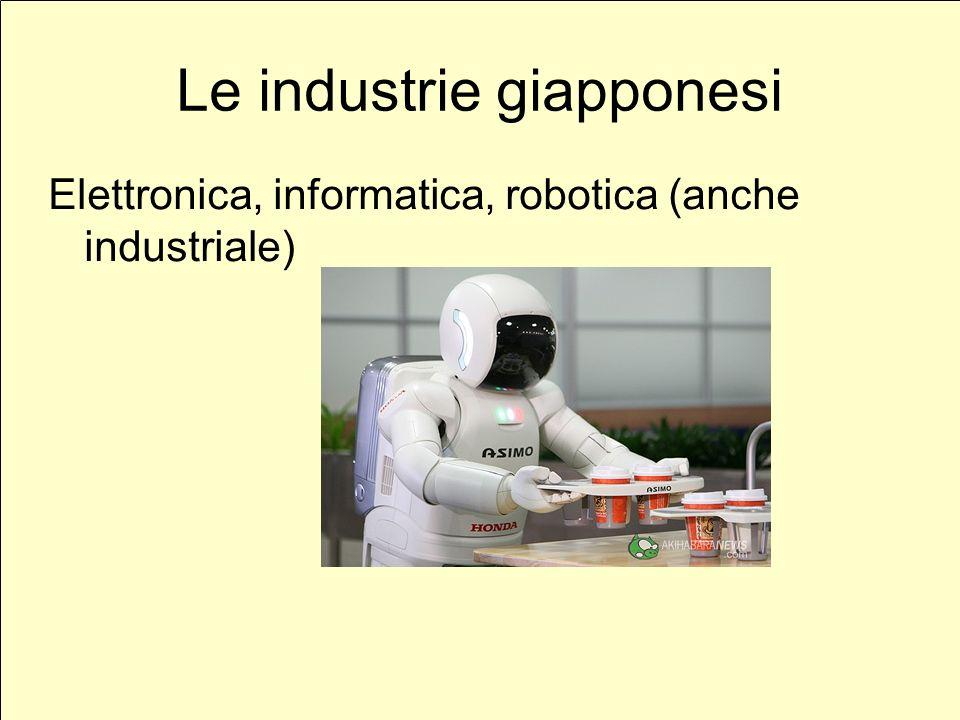 Le industrie giapponesi