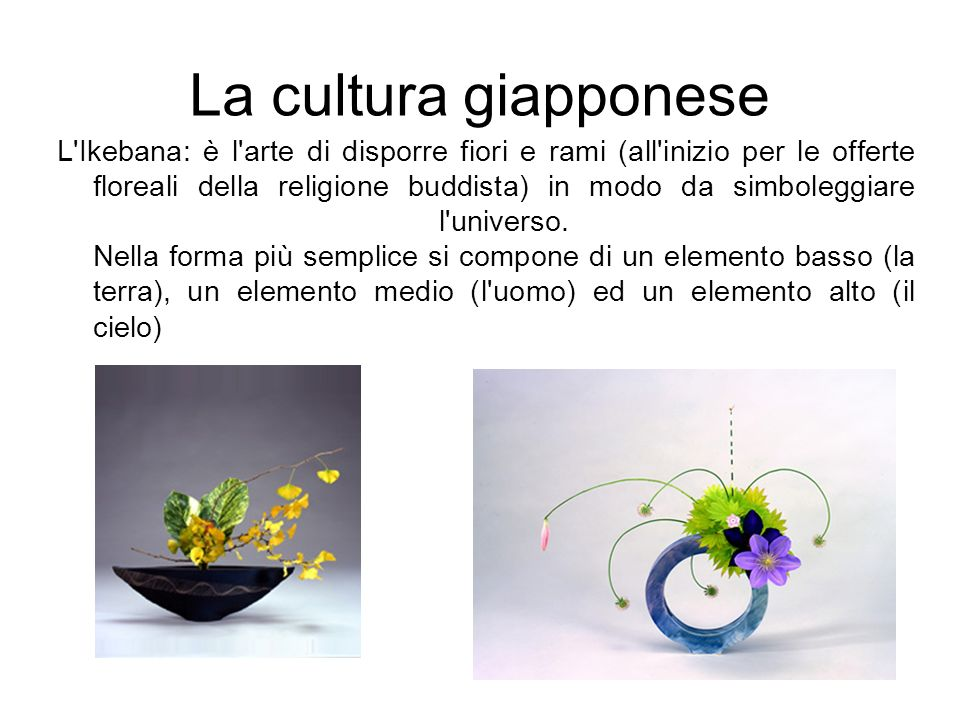 La cultura giapponese