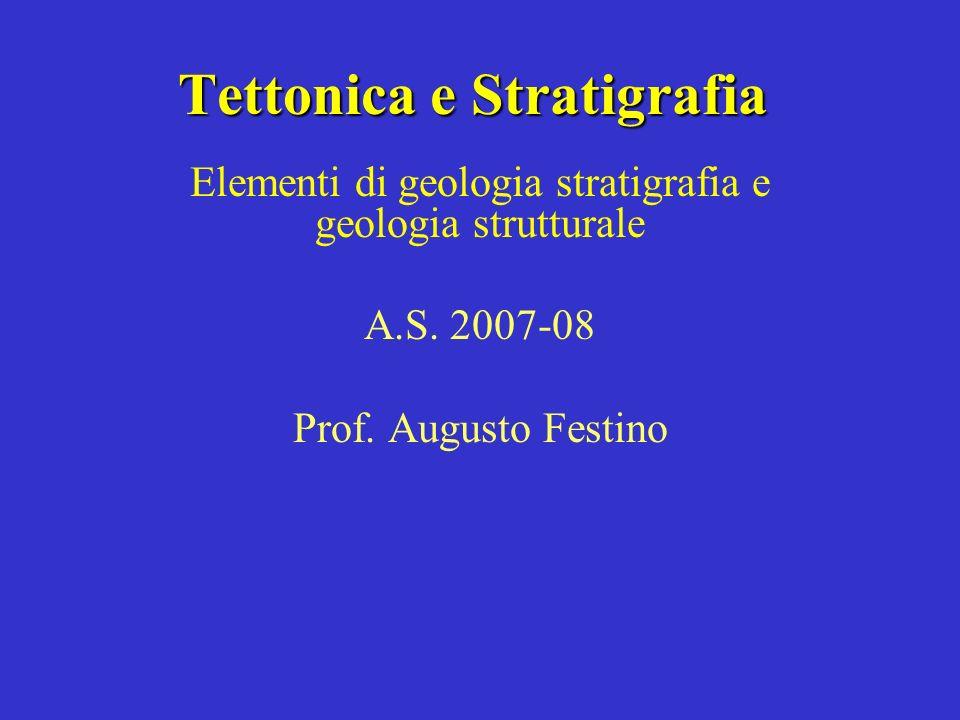 Tettonica e Stratigrafia