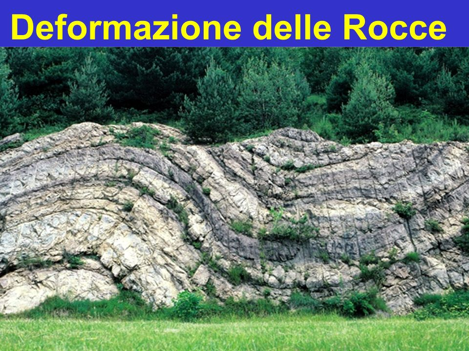 Deformazione delle Rocce