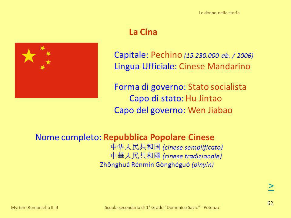 Capitale: Pechino (15.230.000 ab. / 2006)