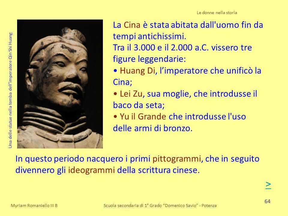 La Cina è stata abitata dall uomo fin da tempi antichissimi.