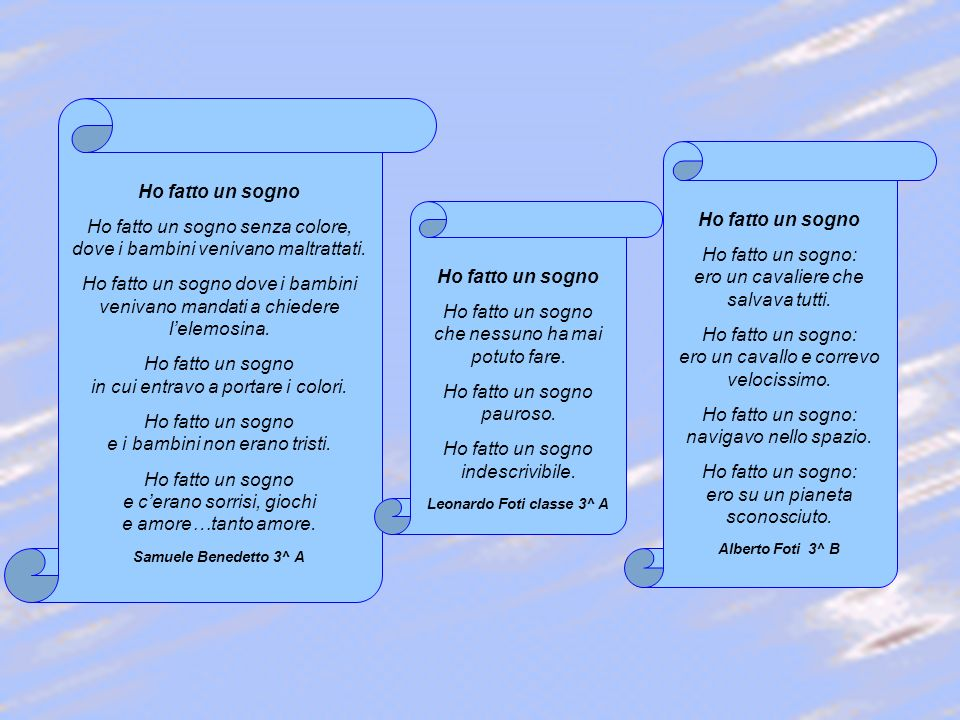 Leonardo Foti classe 3^ A